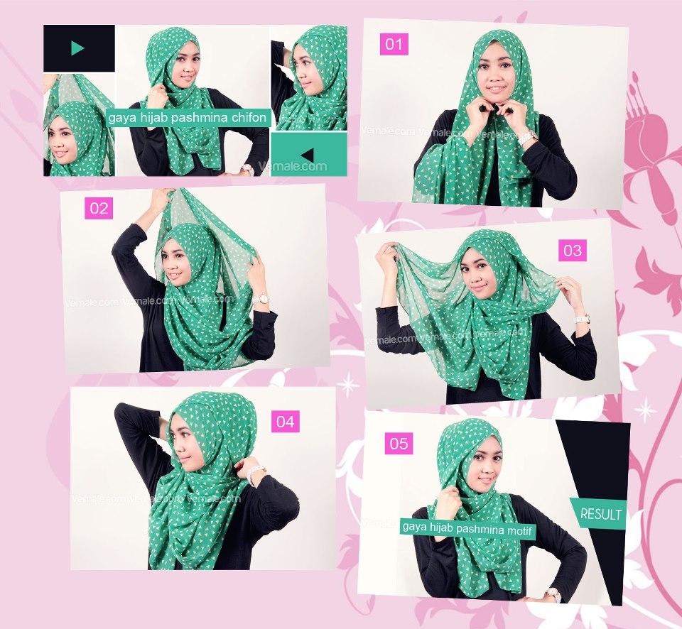 Tutorial Pashmina Chifon 2 Hijabmuslim1